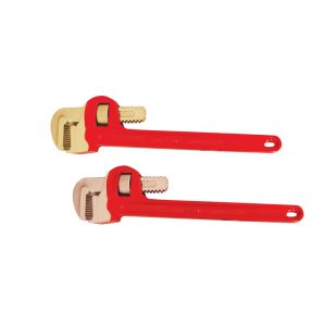 Beryllium Copper Pipe Wrench w/Covered Handle
